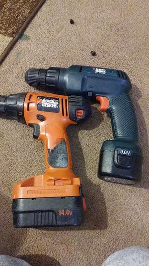 Black and decker drills for Sale in Elgin, SC