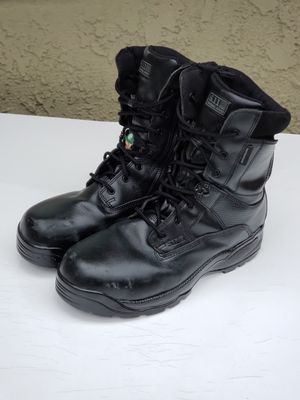 511 tactical boots (steel toe) size 12 all leather waterproof slightly worn $25 firm for Sale in Modesto, CA