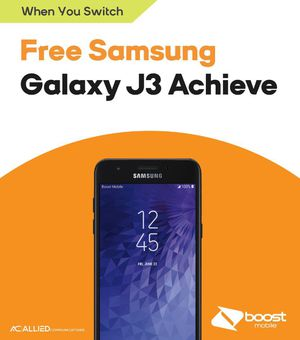 Samsung Galaxy J3 Achieve for Sale in Carrboro, NC