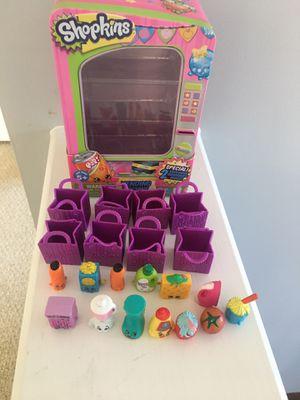 Shopkins Vending Machine, 8 bags, 13 shopkins for Sale in Durham, NC
