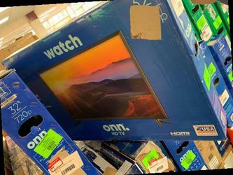 """ONN open box HD (NON SMART) 32"""" TV with warranty GSNJV for Sale in China Spring,  TX"""