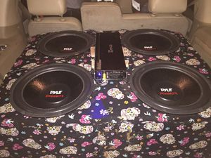 """4 15"""" subwoofers for Sale in Smithville, TN"""