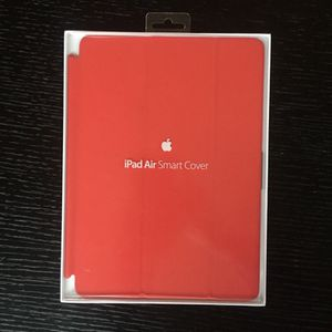 Apple iPad Air Smart Cover (red) for Sale in Charlotte, NC