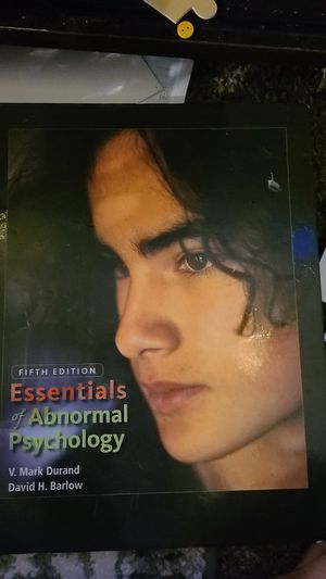 The essentials of abnormal psychology fifth edition for Sale in San Diego, CA