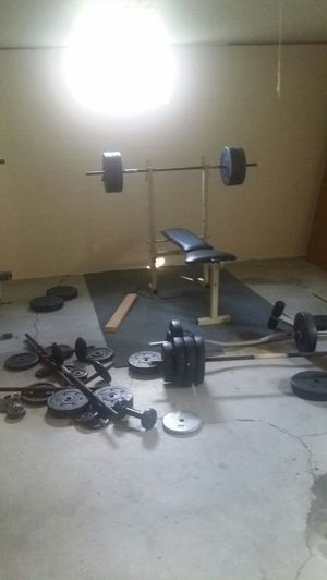 Full weight set for Sale in Savannah, MO