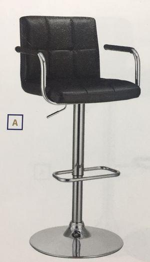 Bar stool - black & chrome for Sale in Detroit, MI
