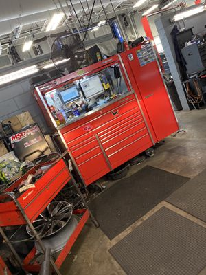 ***SNAP ON MASTERS SERIES TOOL BOX WORK STATION*** for Sale in Peabody, MA