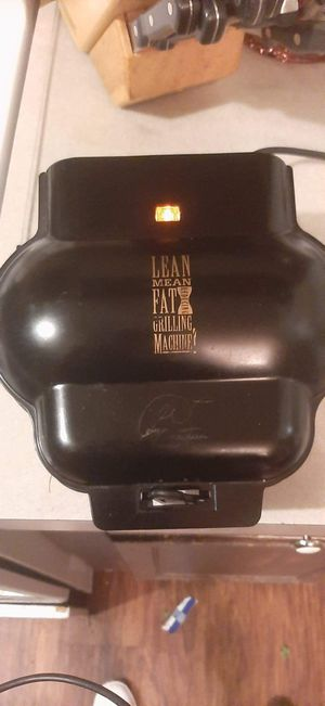 George Foreman Lean Mean Fat Grilling Machine for Sale in Vidor, TX