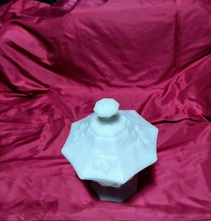 Milk Glass Candy dish for Sale in Smithfield, NC