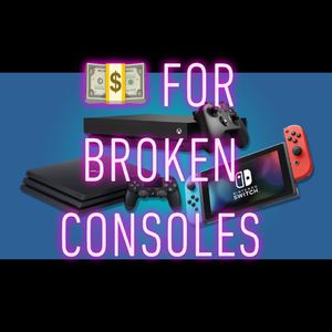 💰 For Broken Consoles for Sale in Tampa, FL