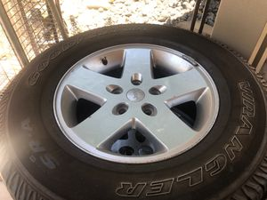 Jeep Wrangler Tires with wheels for Sale in Alta Loma, CA