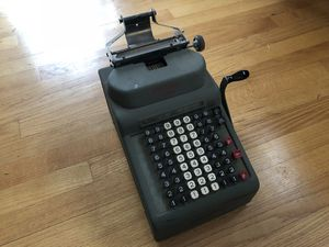 Vintage antique adding machine steampunk for Sale in Bend, OR