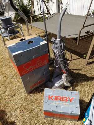 Kirby vacuum with all parts and extras for Sale in Willingboro, NJ
