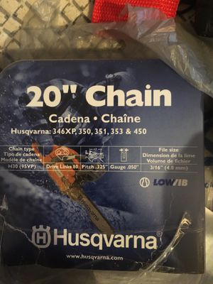 Chain saw chain for Sale in Waldorf, MD