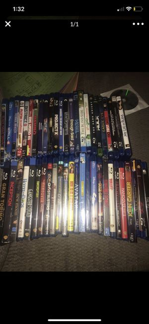Blu ray movies for Sale in Stockton, CA