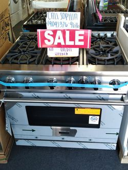 """❤ Viking 36"""" Inch Stove ❤ Call Sophia For Discount 📞 909***326***9616 📞 Warranty Available ❤ for Sale in Riverside,  CA"""