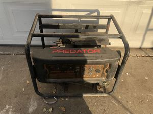 (AS IS) Predator 3200/4000W Generator Engine for Sale in Fresno, CA