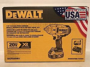 "DeWalt 1/2"" High Torque Impact Wrench kit for Sale in Hillsboro, OR"
