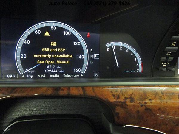 2007 Mercedes-Benz S 600 4dr Sedan
