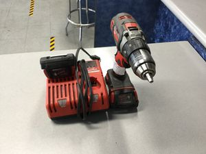 Milwaukee 2606-20 Drill W. 2 Batteries and Charger for Sale in Riverside, CA