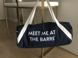 Meet me at the Barre Duffle Bag for Sale in Chicago, IL
