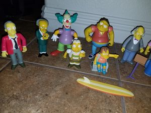 Lot of Playmates Toys SIMPSONS Interactive Voice Figures 2000s for Sale in Tolleson, AZ