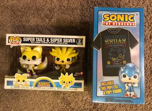 Sonic the hedgehog tails and super silver for Sale in Tacoma, WA