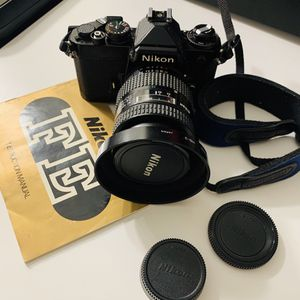 Nikon FE Film SLR Camera for Sale in North Las Vegas, NV