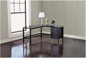 Brand New Lake Point L-Shaped Desk, Black for Sale in Redwood City, CA