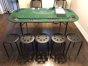 Foldable Black Jack / Craps Table Set for Sale in Orlando, FL