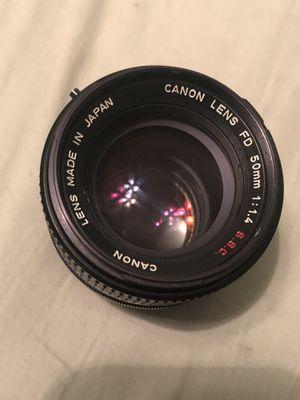 Canon FD 50mm 1:1.4 S.S.C for Sale in Newport Beach, CA