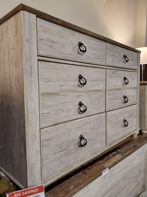Dresser, Whitewash for Sale in Garden Grove, CA