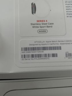 WOW Apple Watch Stainless Steel 44mm LTE for Sale in Washington,  DC