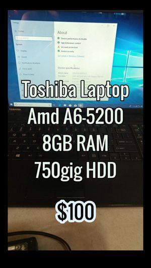 Toshiba laptop for Sale in Pico Rivera, CA