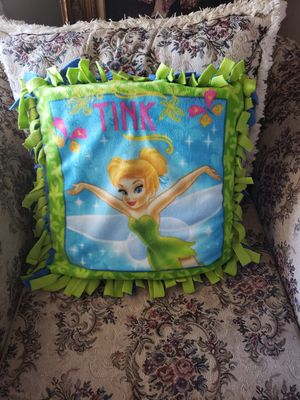 Tinkerbell tie pillow for Sale in Hesperia, CA