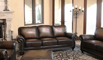 Brown Top Grain Leather Sofa Set ( 4 Pieces) for Sale in Houston,  TX