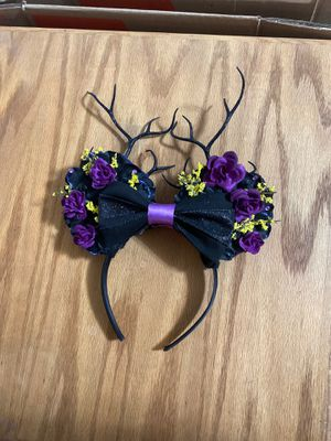 Malificent themed Disney Ears for Sale in Hesperia, CA