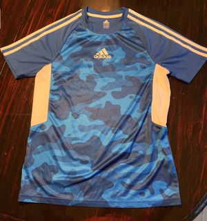 blue adidas t shirt for Sale in Romeoville, IL