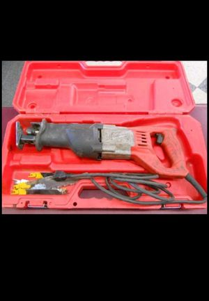 MILWAUKEE SAWZALL RECIPROCATING SAW 6509 12AMP for Sale in Columbus, OH