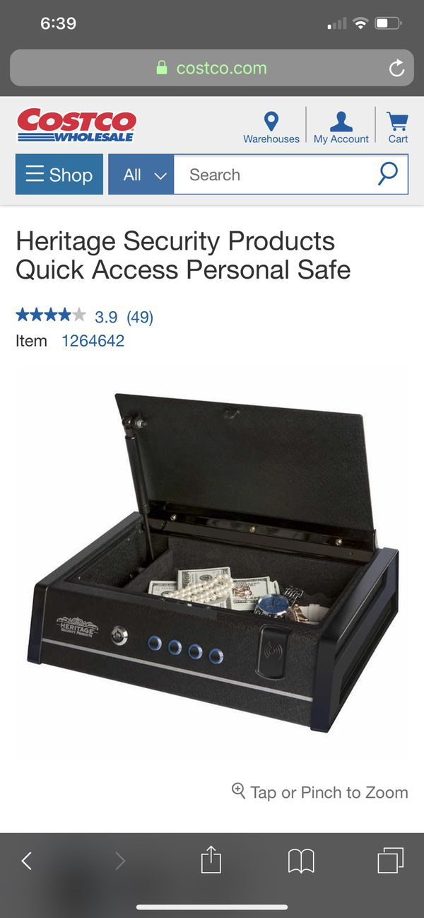 New in Box Heritage Quick Access Personal Safe gun vault for Sale in Lake  Forest, CA - OfferUp