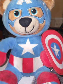 """Build A Bear Avengers Captain America 9"""" for Sale in West Hollywood,  CA"""