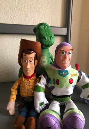 Disney Store Toy Story Plushies (Rare) for Sale in Jurupa Valley, CA