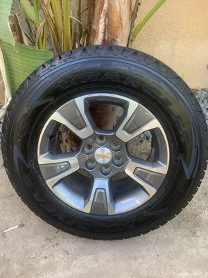 Brand New factory take off Chevrolet Colorado Z71 wheels/tires. for Sale in Corona, CA