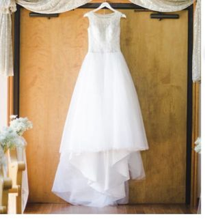 Oleg Cassini Wedding Dress Cv745 for Sale in Pearland, TX