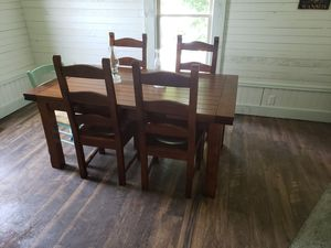 Farmhouse dining room table and chairs for Sale in Oregon City, OR
