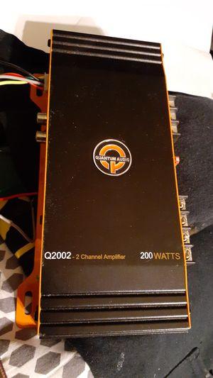 Quantum Audio Q2002 200 Watt 2 Channel Amplifier for Sale in Vancouver, WA