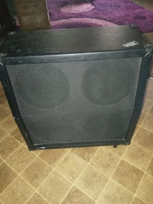 Big concert speaker with for 10 inch speakers for Sale in Kansas City, MO