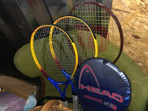 Tennis rackets (3) for Sale in North Chesterfield, VA