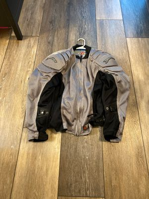 Joe rocket vented motorcycle jacket with removable pads for Sale in Leander, TX