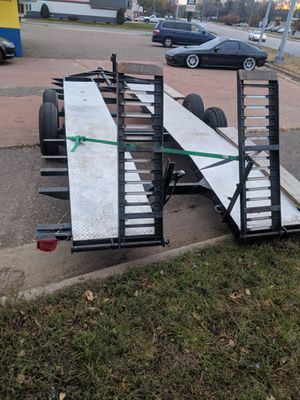 Homemade Car Hauler 18ft for Sale in Eau Claire, WI